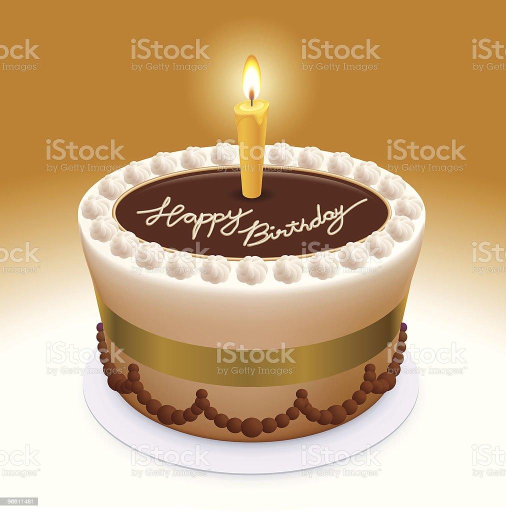 happy birthday again - Royalty-free Anniversary stock vector