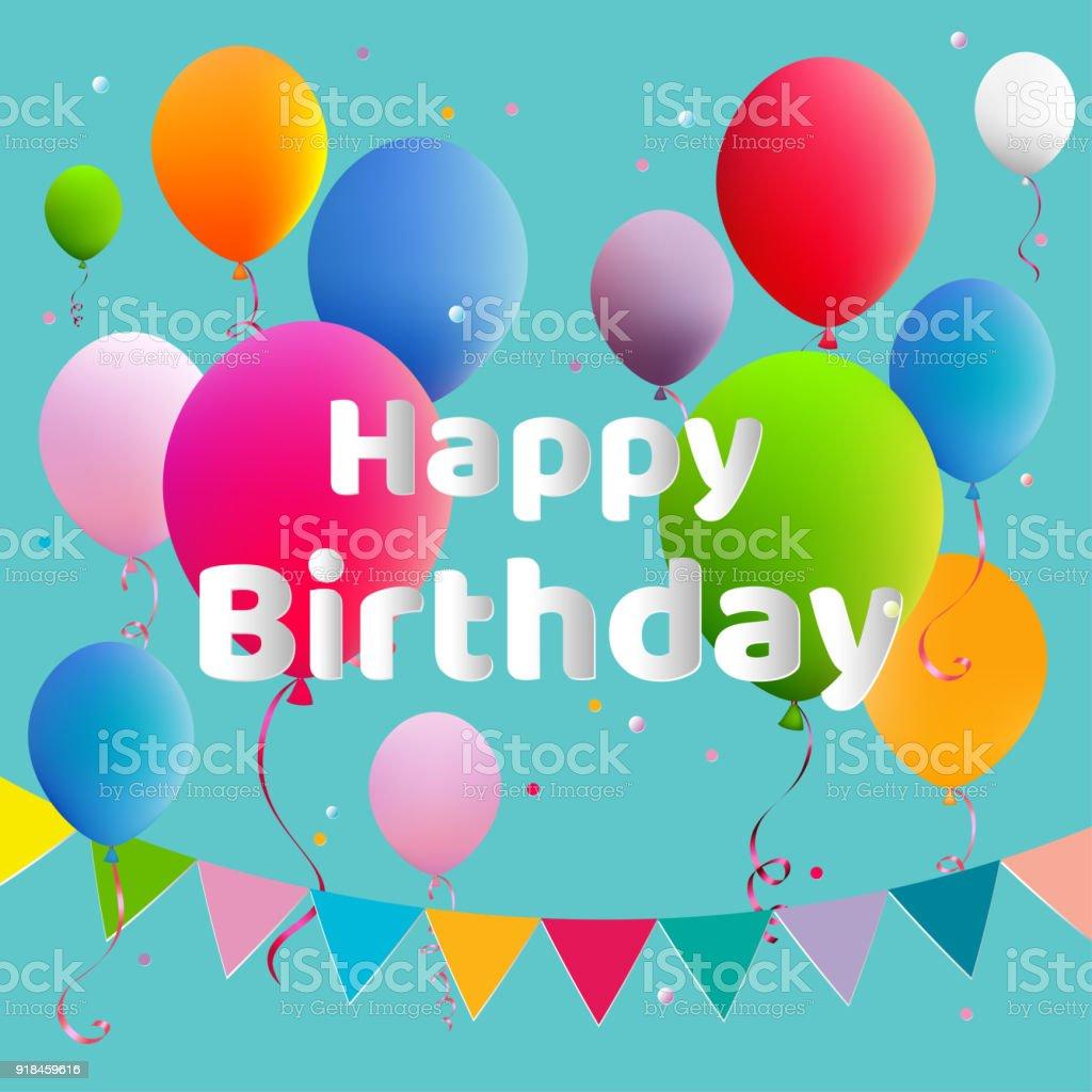 Proficiat Met Je Verjaardag Ballonnen Verjaardag Decoratie Viering