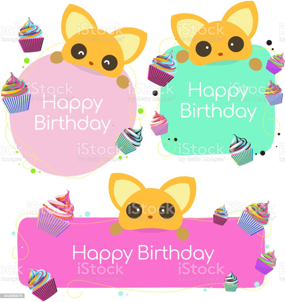 Happy Birthday Banner Background Stock Vector Art & More