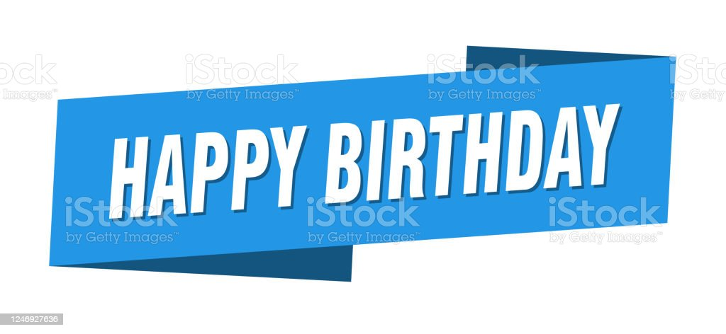 Happy Birthday Banner Template from media.istockphoto.com