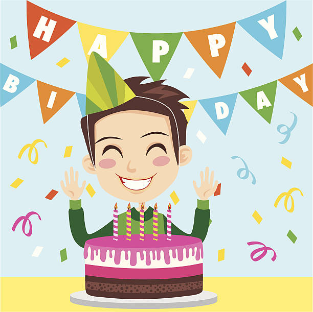 Royalty Free Blowing Candles Clip Art, Vector Images ...