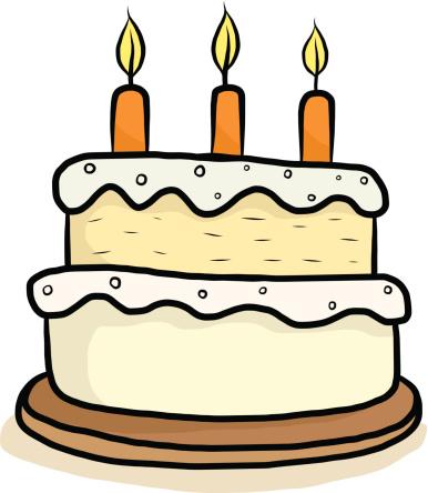 Happy Birthday Cake Comic Stock Vektor Art und mehr Bilder von Braun