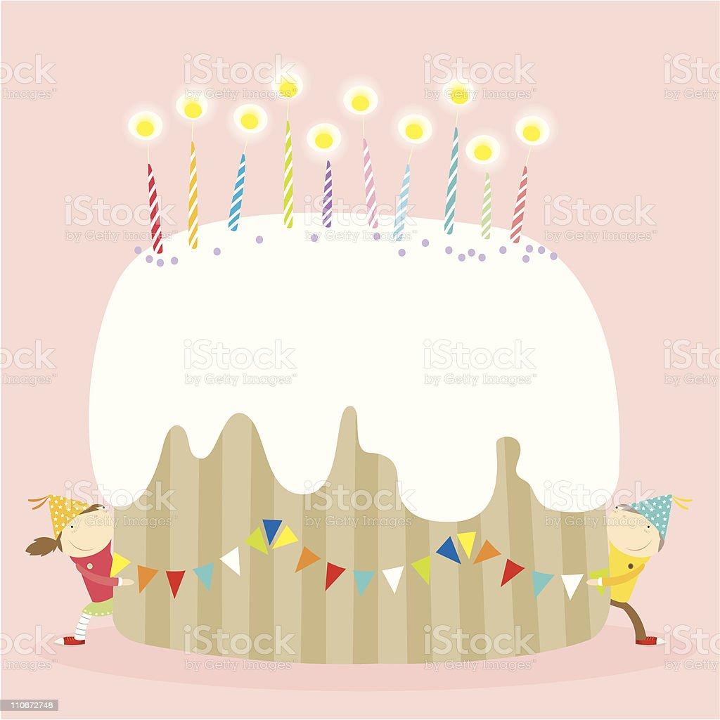 Prime Happy Birthday Cake Girl Stockvectorkunst En Meer Beelden Van Funny Birthday Cards Online Sheoxdamsfinfo