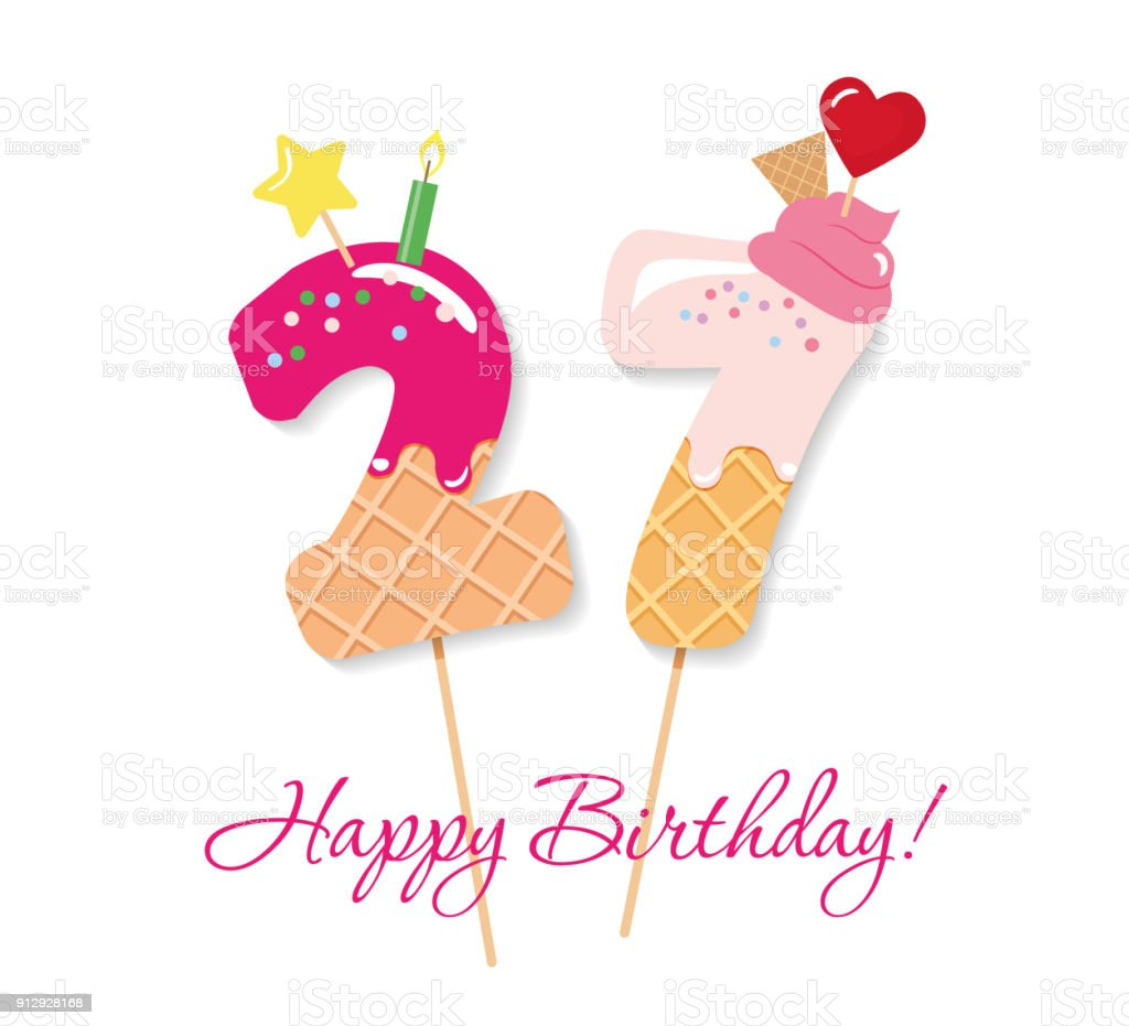 Happy birthday card festive sweet numbers 27 coctail straws funny happy birthday card festive sweet numbers 27 coctail straws funny decorative characters bookmarktalkfo Choice Image