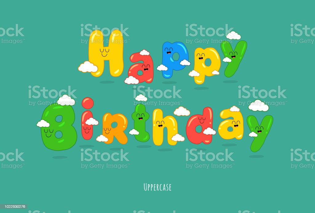 Happy Birthday Card Font Make Your Congratulations Unforgettable