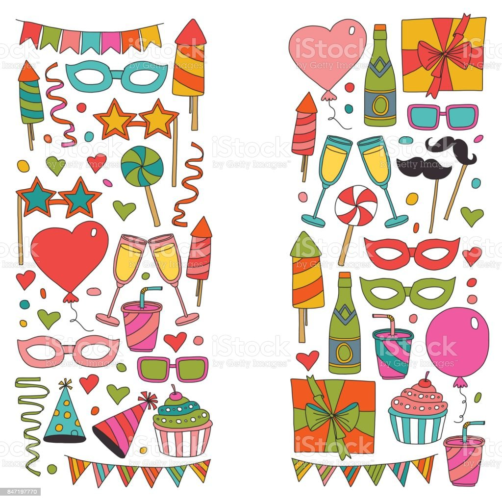 Happy Birthday Card Template Kids Drawing Children Party Wedding – Template Happy Birthday Card