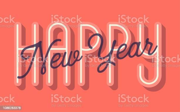 Happy Birthday Card Vector Illustration Stock Illustration - Download Image Now