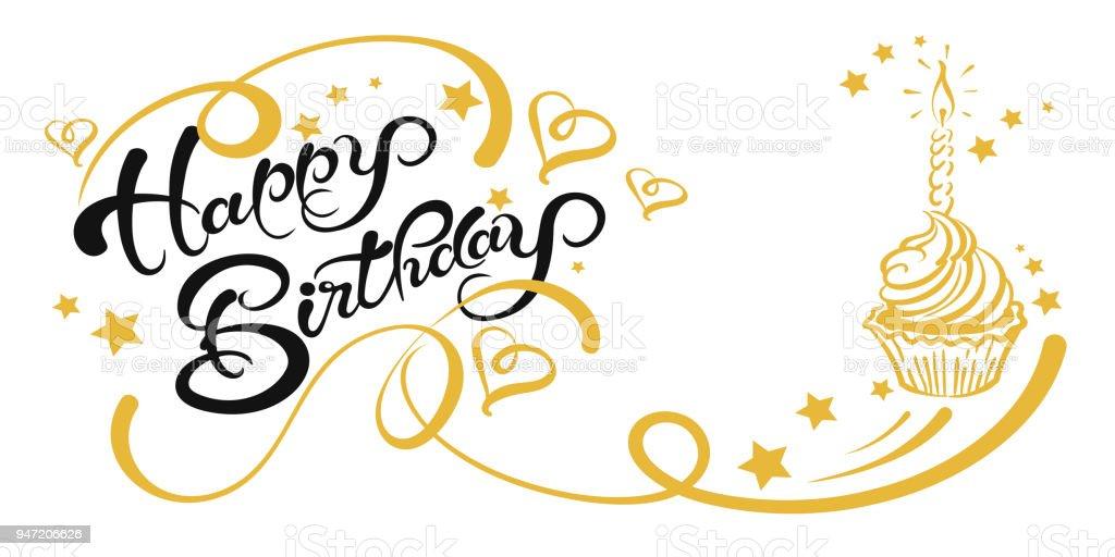 Happy Birthday Card, Vektor-Bild – Vektorgrafik