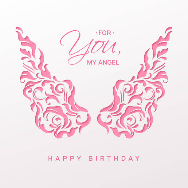 Top Happy Birthday In Heaven Images Vector Illustrations And Clip Art