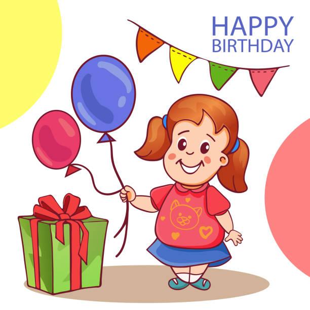 34 Happy Birthday Granddaughter Illustrations Clip Art Istock