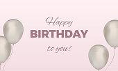 Happy birthday celebrate stock illustration