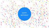Happy birthday celebration background