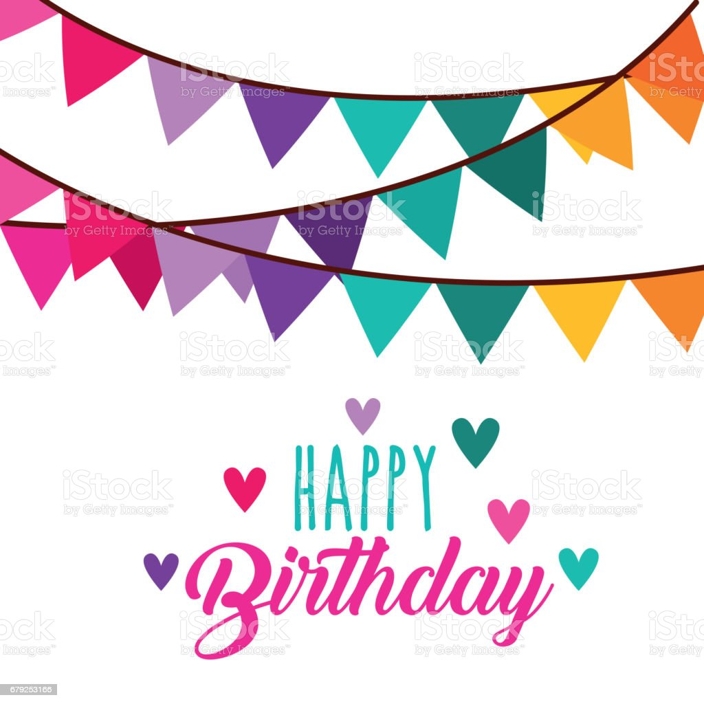 icône de carte joyeux anniversaire célébration icône de carte joyeux anniversaire célébration – cliparts vectoriels et plus d'images de affiche libre de droits