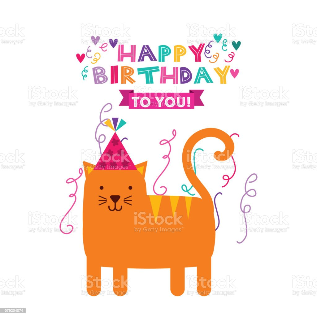 happy birthday celebration card icon happy birthday celebration card icon - arte vetorial de stock e mais imagens de aniversário royalty-free