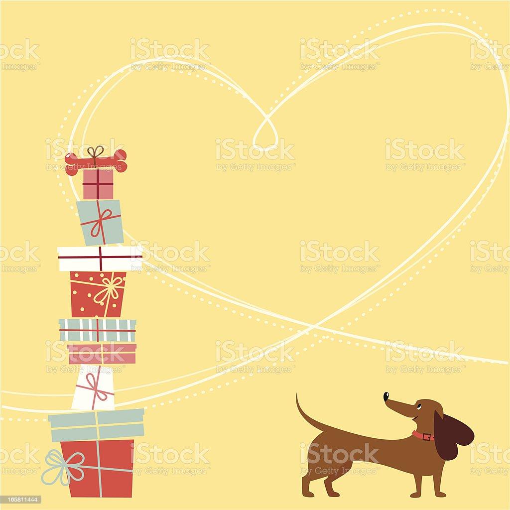 Happy Geburtstag Hund Stock Vektor Art Und Mehr Bilder Von