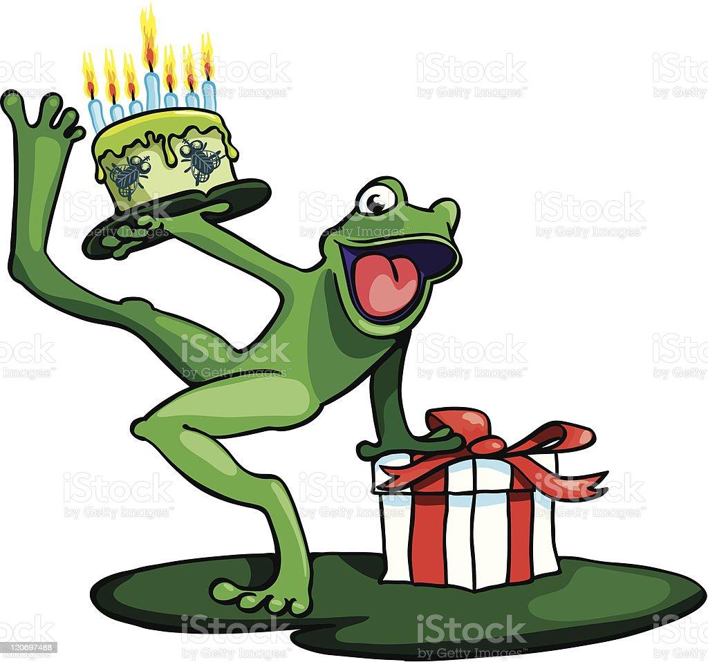 Открытки, лягушка поздравление открытка