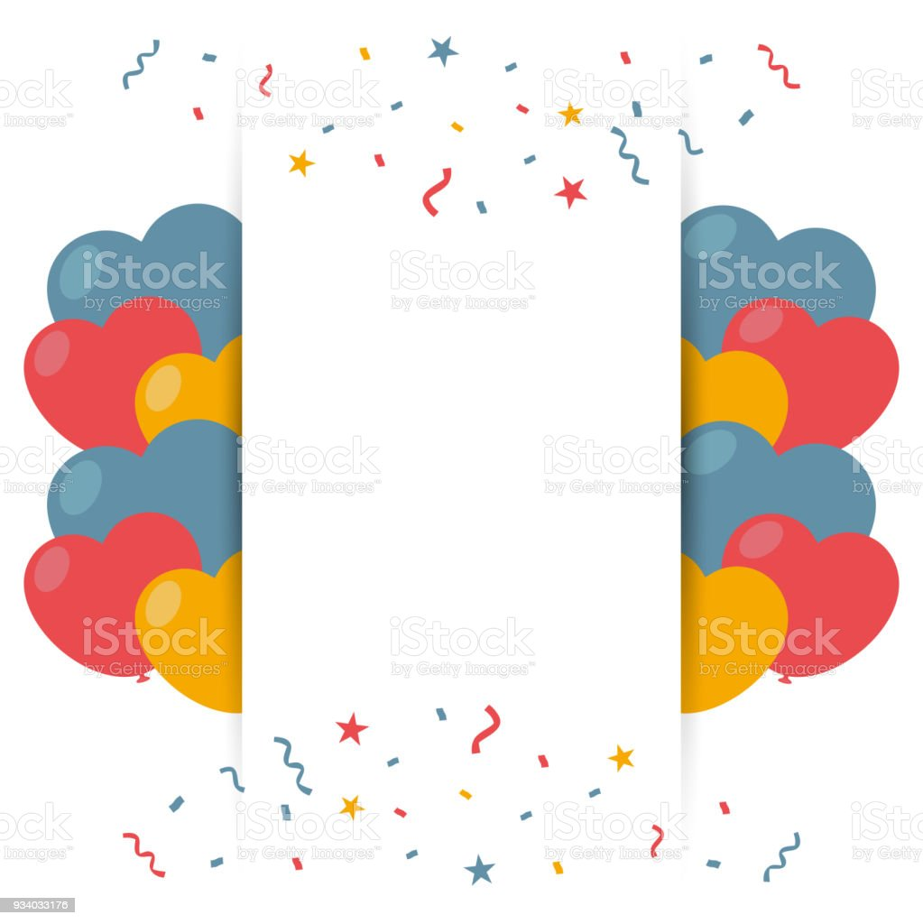 Happy birthday greeting card background template stock vector art happy birthday greeting card background template royalty free happy birthday greeting card background template stock m4hsunfo