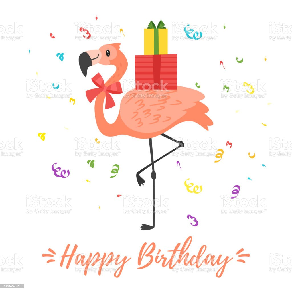 Happy Birthday Greeting Card Template Stock Illustration Download Image Now Istock