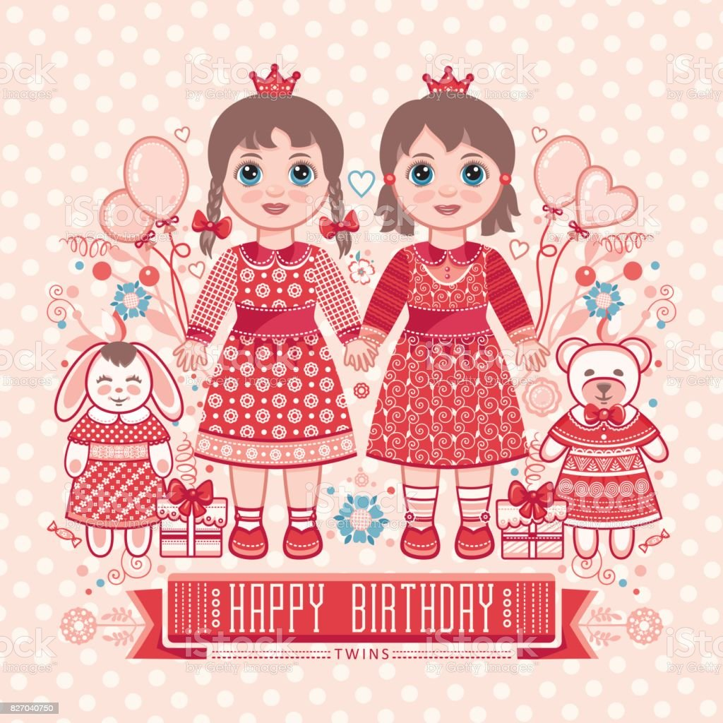 Happy birthday greetings card for girl stock vector art more happy birthday greetings card for girl royalty free happy birthday greetings card for m4hsunfo
