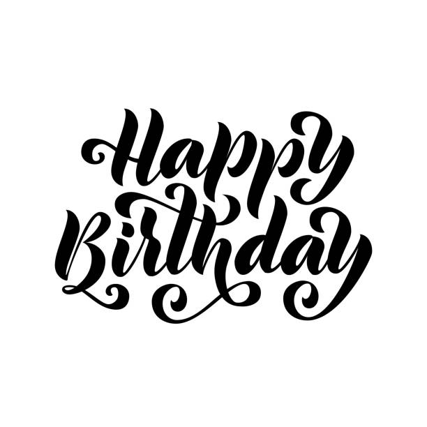 royalty free birthday card template word clip art vector images