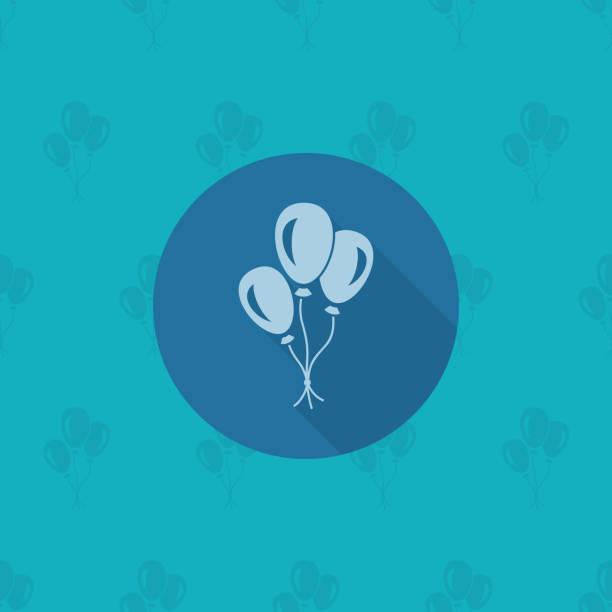 Happy Birthday Icon vector art illustration