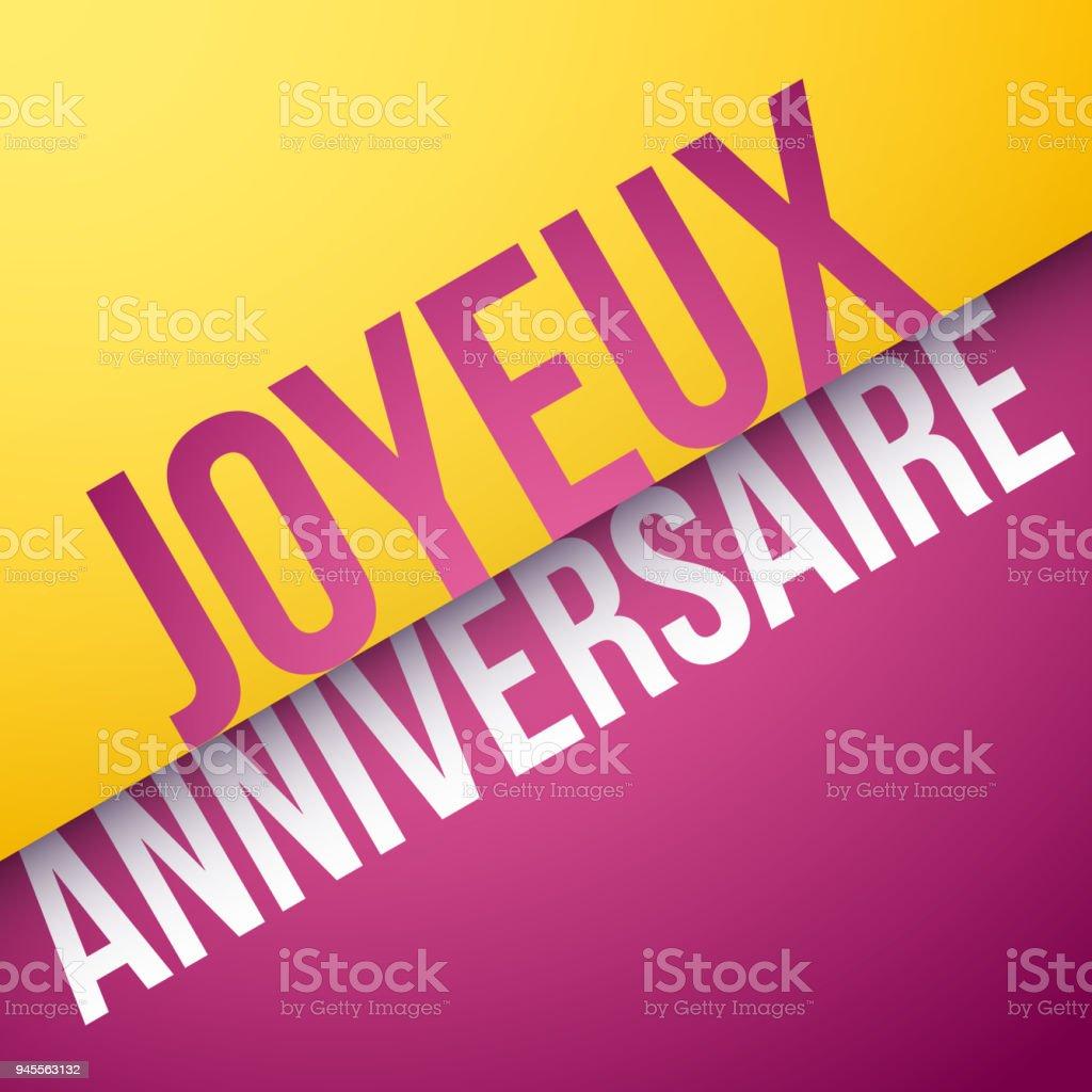 grattis på födelsedagen på franska AnniversaireIllustrationer och vektorbilder   iStock grattis på födelsedagen på franska
