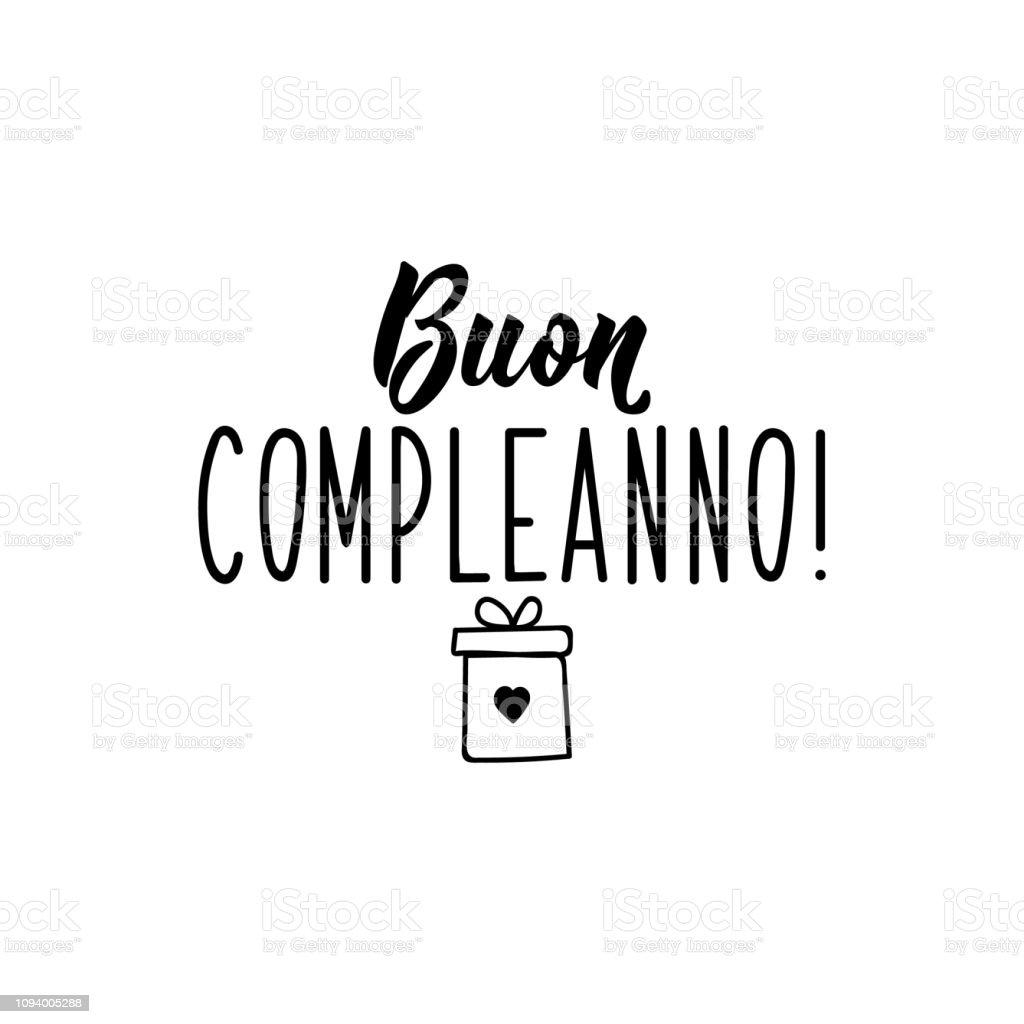 Geburtstag Italienisch