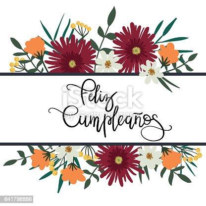 Joyeux Anniversaire En Espagnol