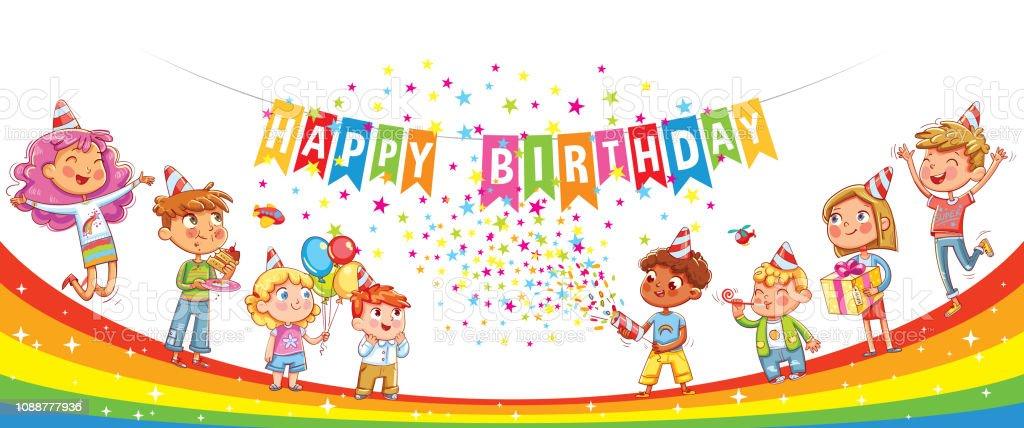 Herzlichen Glückwunsch Zum Geburtstag Kinder Feiern Mit