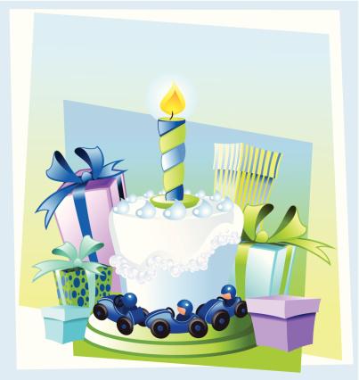 Happy birthday, little boy!