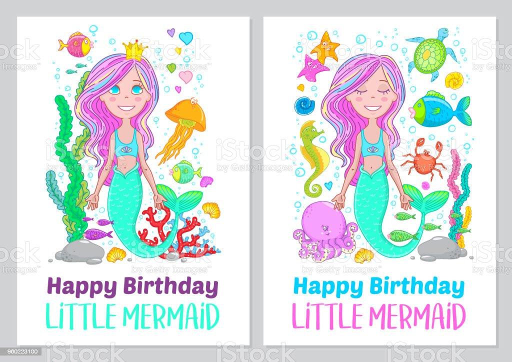 Happy Birthday Little Mermaid