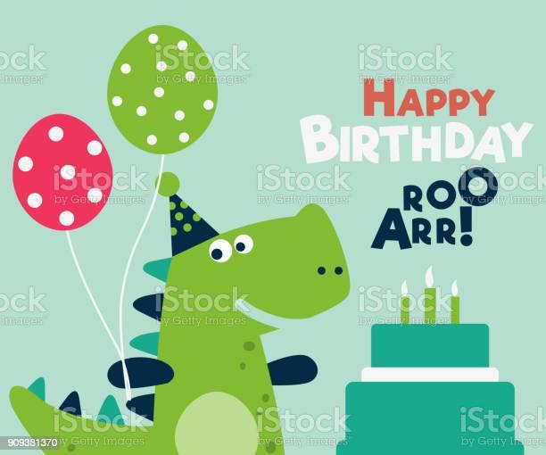 Happy birthday lovely vector card with funny dinosaur vector id909381370?b=1&k=6&m=909381370&s=612x612&h=rl6zemnqefj 8doztzabzutp5enoeqndo0ipxbcgtui=