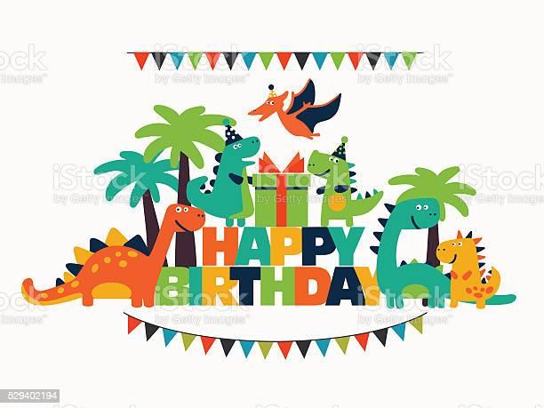Happy birthday lovely vector card with funny dinosaurs vector id529402194?b=1&k=6&m=529402194&s=612x612&h=yyhedora8upt6k2lk9gjo2dj8kylaq9vhjpoggo6k14=