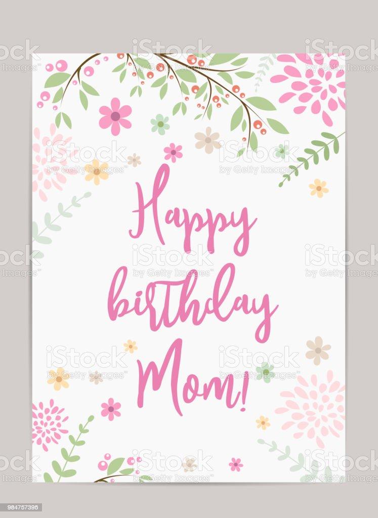 Mediaistockphotocomvectorshappy Birthday Mom G