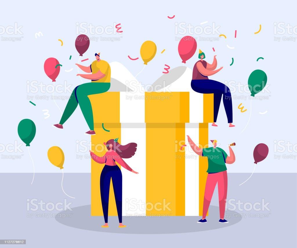 Happy Birthday Party Feier Mit Freund Geschenk Design Für