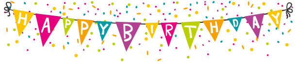 Image result for happy birthday banner clipart