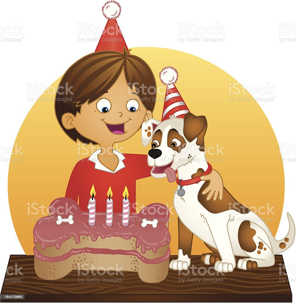 Buon Compleanno Cucciolo Immagini Vettoriali Stock E Altre