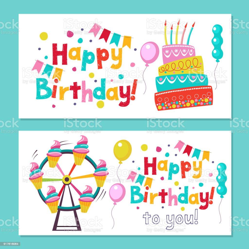 till födelsedag Grattis På Födelsedagen Inbjudan Till Födelsedag I Stil Av En  till födelsedag