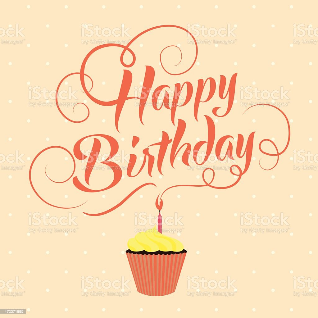 Happy Birthday Typography Banner Stock Vector Art & More