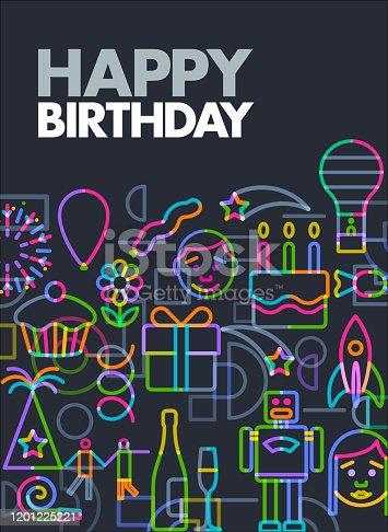 istock Happy Birthday 1201225221