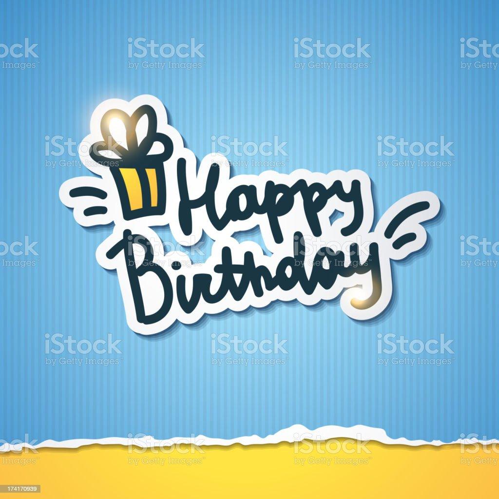 happy birthday royalty-free happy birthday stock vector art & more images of birthday