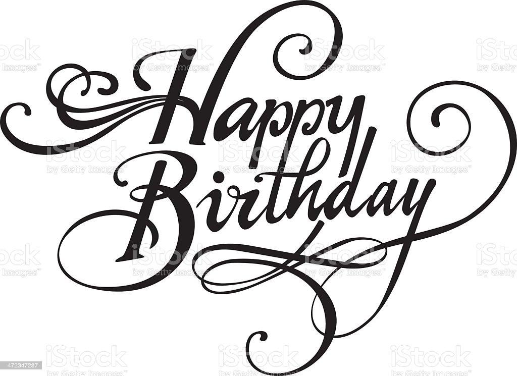 Happy birthday zum ausdrucken kostenlos