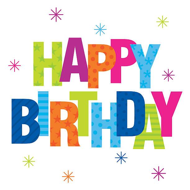 Birthday Card Clip Art Vector Images Illustrations iStock – Birthday Greetings Clip Art
