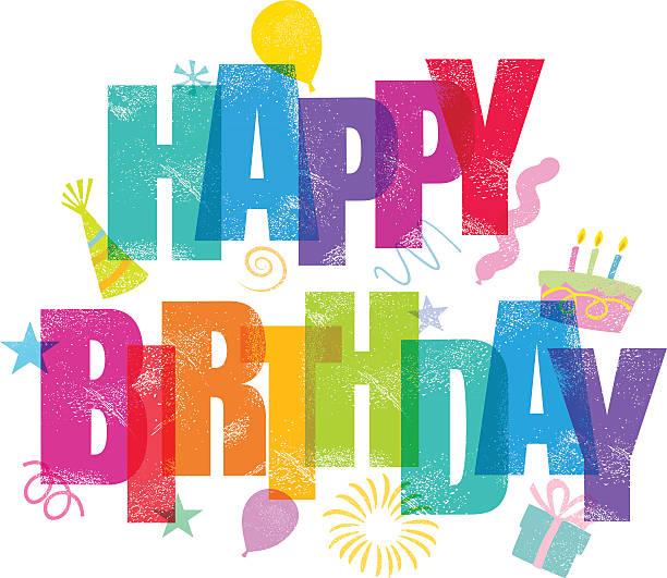 ilustraciones, imágenes clip art, dibujos animados e iconos de stock de feliz cumpleaños - cumpleaños