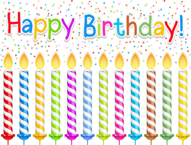 Joyeux anniversaire! - Illustration vectorielle