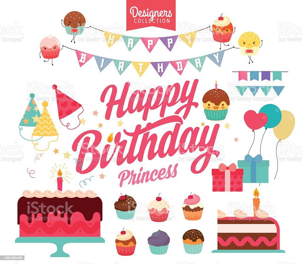 Happy Birthday – Vektorgrafik