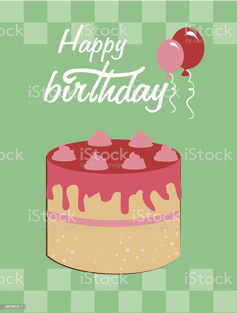 happy birthday royalty-free happy birthday stock vector art & more images of bakery