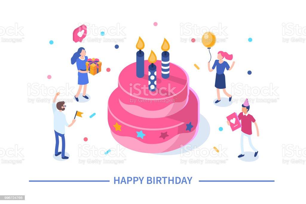 happy birthday royalty-free happy birthday stock illustration - download image now