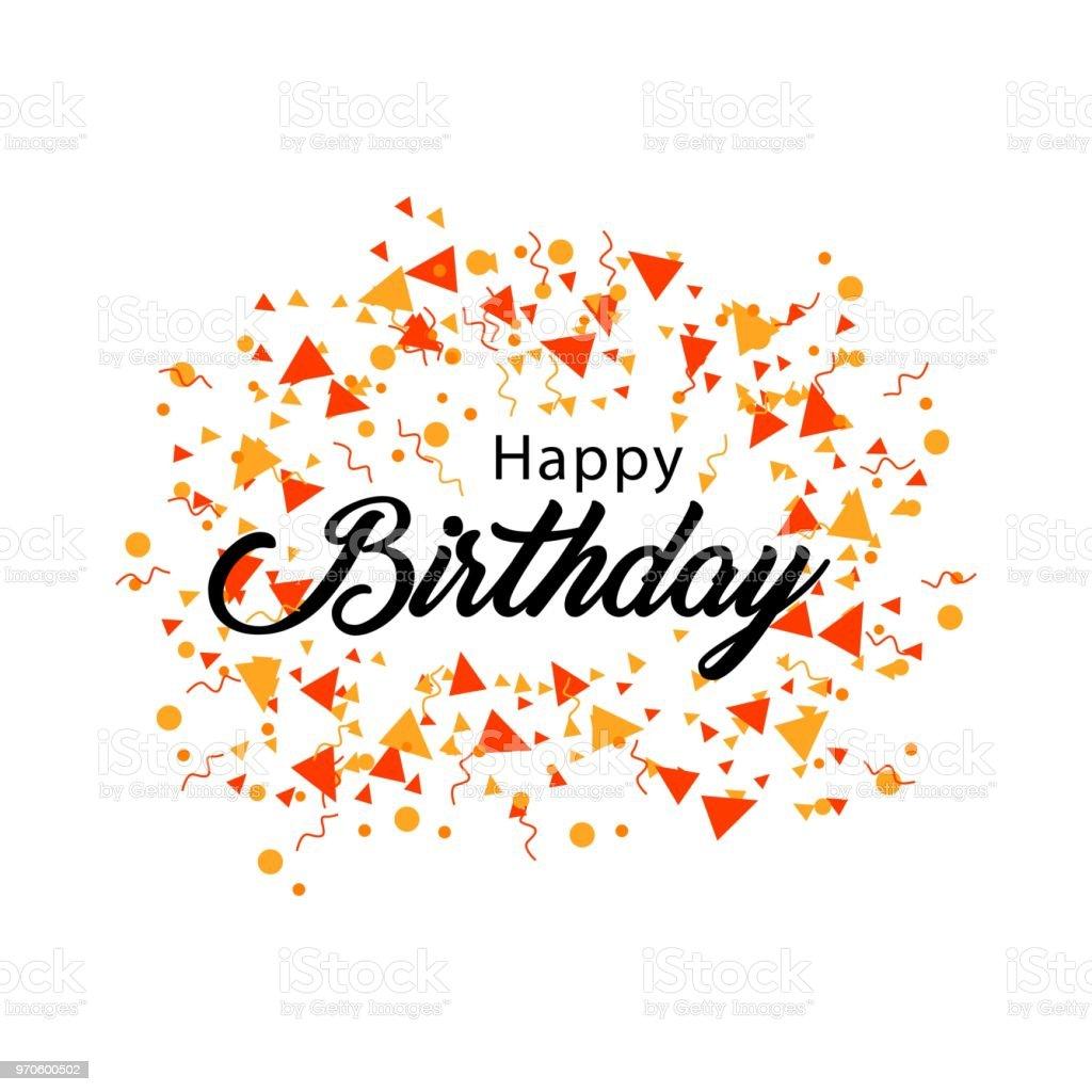 happy birthday vector template design stock vector art more images
