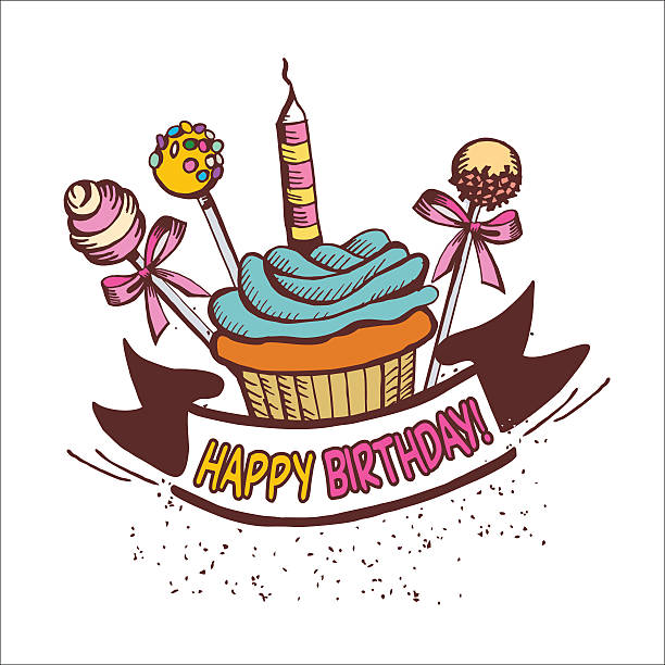 Royalty Free Cake Pop Clip Art, Vector Images